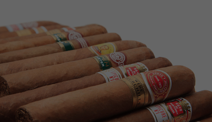 Wide Variety Of Cuban Cigars